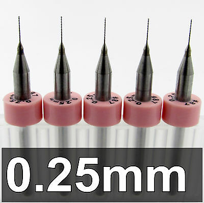 """.0079/"""" 0.20mm #92  Carbide Drill Bits cnc .008 model hobby R//S FIVE pieces"""
