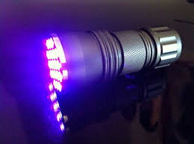 New 21 LED UV Ultra Violet Aluminum Alloy Flashlight Blacklight Torch  x 2 off