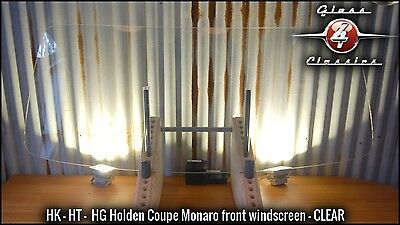 HK HT HG Holden Coupe Monaro Front Windscreen (Clear)