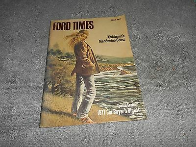 FORD TIMES THE FORD OWNERS MAGAZINE - MAY 1977