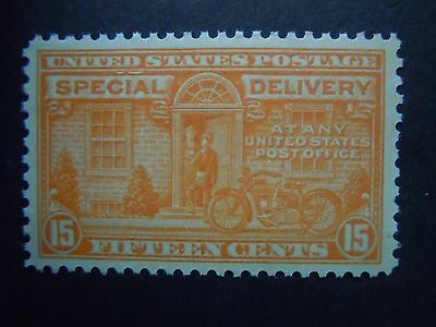 1931 #E16 15c Motorcycle Special Delivery  MNH OG VF