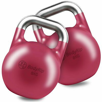 BodyRip 2 x 8KG COMPETITION KETTLEBELL MMA CONDITIONING CROSSFIT BOOTCAMP CORE