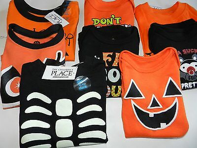 Baby & Toddler Halloween Shirts & One Pieces for Baby & Toddler Sz Newborn-3T