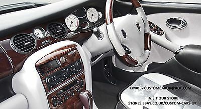 7 Piece Walnut Or Carbon Fibre Dash Kit - Rover 75 - MG - ZT 1998-2005 RHD/LHD