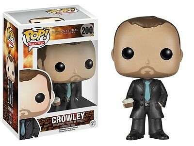 CROWLEY Funko POP! Supernatural 10cm Vinyl Figur OVP
