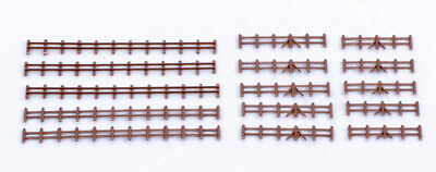 Kestrel Brown Fencing  N Gauge Plastic Kit KD13B