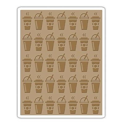 Tim Holtz Texture Fades ~ ON THE GO ~ Embossing Folder ~ 660248