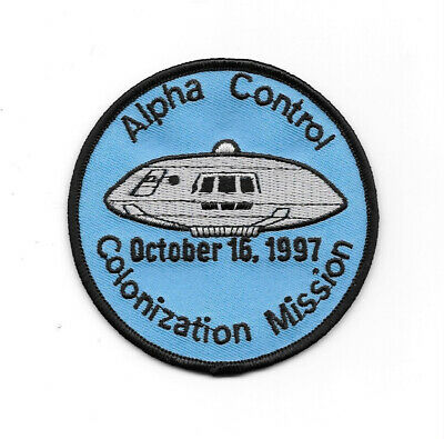 Lost In Space TV Series Colonization Mission Logo Embroidered Patch, NEW UNUSED