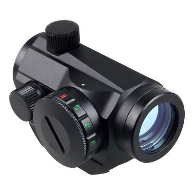 Tactical Red Green Dot Sight Scope W/ 20mm Weaver Rail Mount New