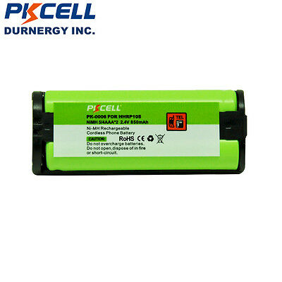 850mAh NI-MH Home Phone Rechargeable Battery For Panasonic HHRP105 HHR-P105 NEW