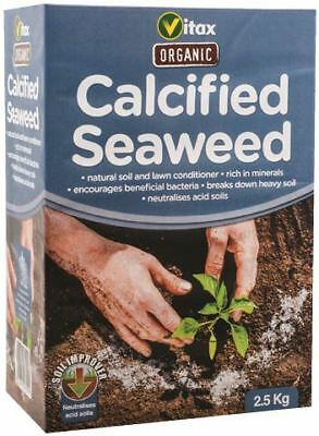 Vitax 2.5kg Rich In Minerals Natural Soil Conditioner Calcified Seaweed