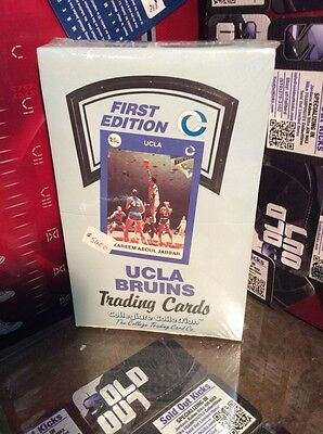 UCLA Bruins first edition sealed box (1990-91)