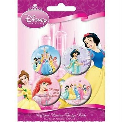 DISNEY - Princess - Button Set - Badge Pack - Neu OVP