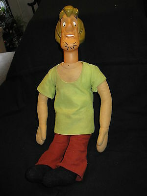 "Scooby Doo Friend Shaggy Doll 20"" Cartoon Network Made in China"