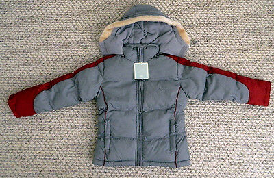 nwt girls winter jacket down hood ski cold weather water resistant $99 Size 12