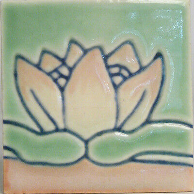 California Art Tile Company Water Lily Tile Richmond, California Pottery
