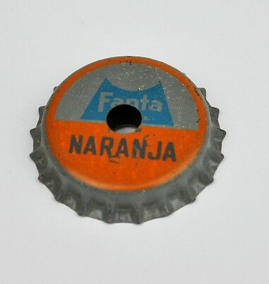 Coca-Cola Fanta Naranja Kronkorken Pfeife USA Mexico Bottle cap whistle 1960er