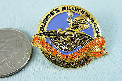 ROYAL ORDER OF JESTERS PIN BURDE'S BILLIKEN BASH ALL STAR BOOK OF THE PLAY VEGAS