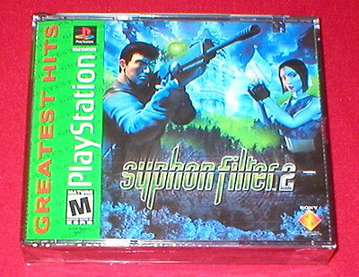 Syphon Filter 2  for the Sony Playstation PS1 PS2 System NEW SEALED