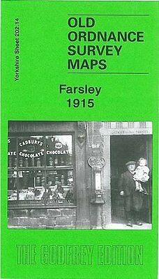 Old Ordnance Survey Map Farsley 1915
