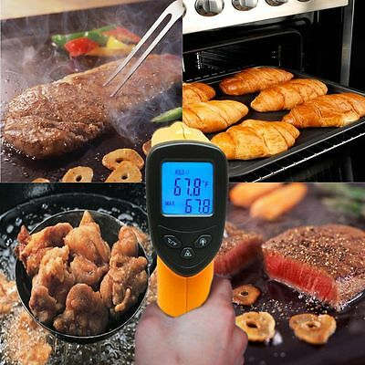 Temperature Gun Noncontact Infrared Ir Laser Digital Thermometer Fda Approved