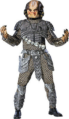 Adult Mens Predator, 2 & 3 Adult Halloween Fancy Dress Costume - Standard