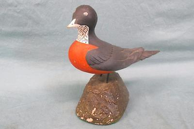 Vintage Decorative Molded Robin Red Breast Found in Maine Early 20th Century
