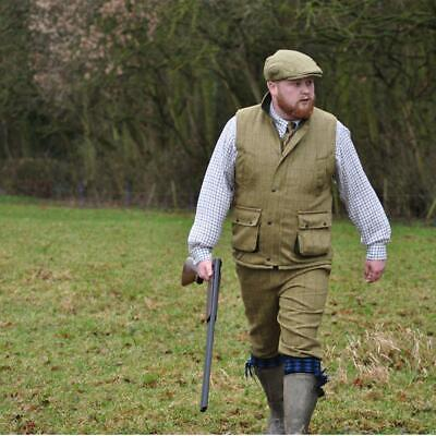 Mens Game Light Derby Tweed Gilet - Hunting | Shooting Bodywarmer