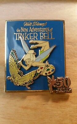 Disney Pin - WDW -50 Years of Tinker Bell Series Pin #5 (May) Paint Butterfly LE
