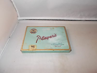 VINTAGE PLAYERS CIGARETTE TIN - NAVY CUT CIGARETTE MILD