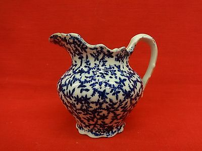 Knowles Taylor Knowles Flow Blue Seaweed pattern small pitcher