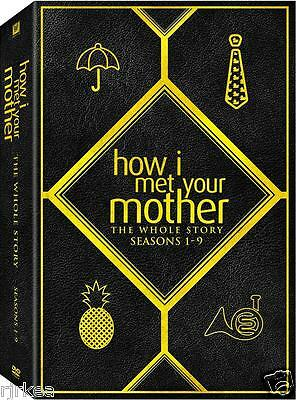 How I Met Your Mother The Complete Series DVD Season 1 2 3 4 5 6 7 8 New 2014