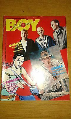 Corrier Boy Music # 44-6 Fumetti-Bronski Beat-Harrison Ford-Susy Strike-1984