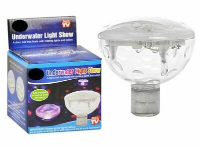 Underwater Disco Light Show Pool LED Waterproof Floating Party Spa Hot Tub Pond