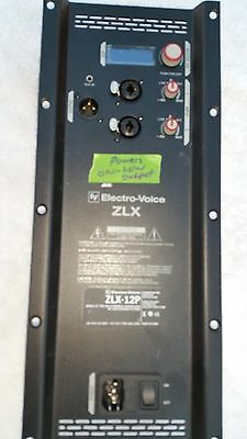 # 3 EV ZLX 12P ELECTRO VOICE  AS IS   TWO WAY POWERED SPEAKER AMP