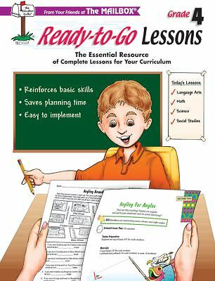 Ready-to-Go Lessons (2002, Book, Other) Teacher Resource Grade 4 from Mailbox