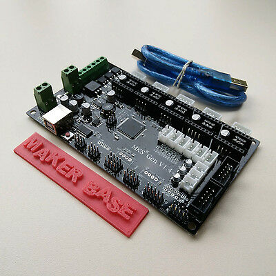 MKS Gen V1.4 3D Printer Controller Remix Board (RAMPS 1.4 + Mega 2560)+USB Cable