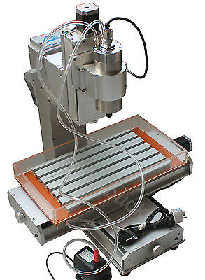 3 Axis CNC Table Column Type Engraving Machine Ball Screw 1500W Spindle Inverter
