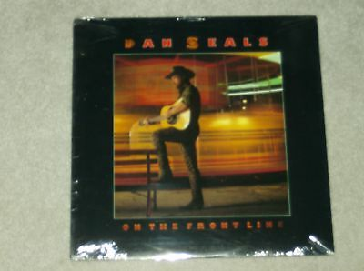 """Dan Seals """"On The Front Line"""" Original Country Lp Record album. Still SEALED NEW"""