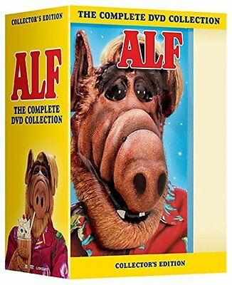 "Alf Complete Series Collection 1-4 Deluxe Dvd Box Set 16 Discs ""new&sealed"""