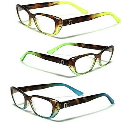 DG Cat Eye Reading Glasses 1.25 1.50 1.75 2.00 2.50 2.75 3.00 Women's Eyeglasses