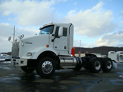 2013 Kenworth T800 Rolling Chassis No Engine - Glider Kit w/ UltraShift Trans