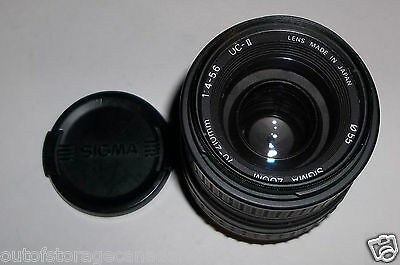 Sigma UC II AF 70-210mm f/4-5.6 Zoom Lens Very Good Condition, Well Cared For