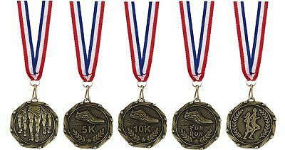 Athletics  Running Medals Single or Set of five FREE ENGRAVING and FREE POST