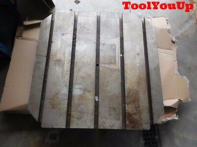 "Makino T - Slotted Pallet 32"" Squared Industrial Machinery Equipment Machinist"