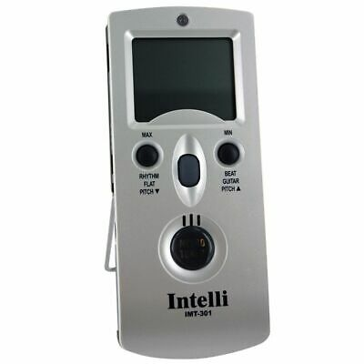 INTELLI IMT-301 DIGITAL 5-in-1 METRONOME AND TUNER WITH TEMPERATURE/HYGROMETER