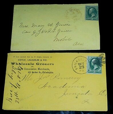 1871 GW Us three cent stamps on the envelope L@@K