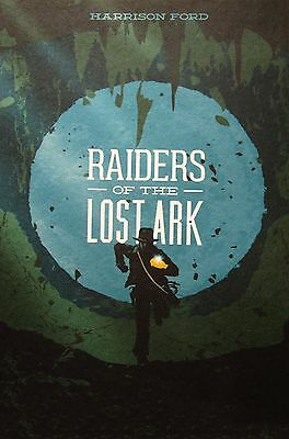 RAIDERS OF THE LOST ARK  ART PRINT  POSTER FILM MOVIE WALL DECOR A3 painting
