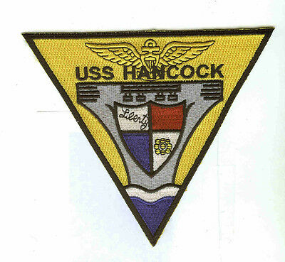 CV-19 CVA-19 USS HANCOCK USN NAVY AIRCRAFT CARRIER SHIP SQUADRON PATCH