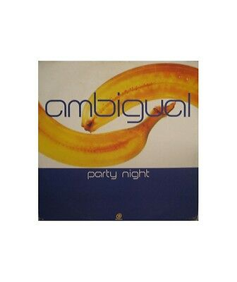 """[OO01163] Ambigual """"Party Night""""  - 12"""" Downtown (3) DTR 1146"""